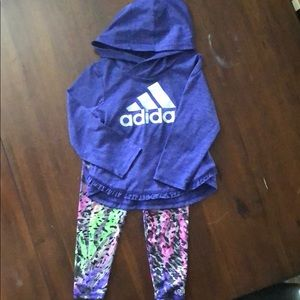 24 months adidas outfit toddler